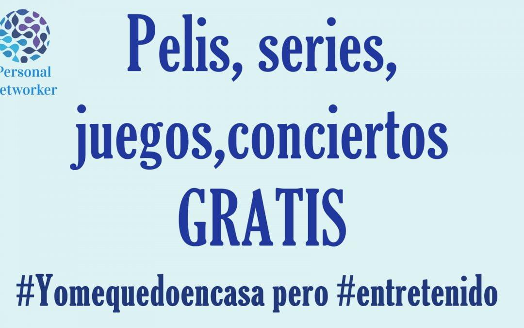 Entretenimiento gratis #Yomequedoencasa