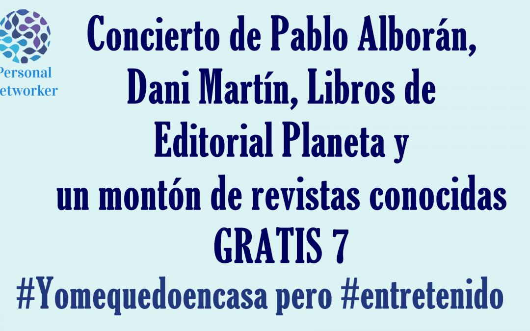 Entretenimiento gratis 7 #Yomequedoencasa