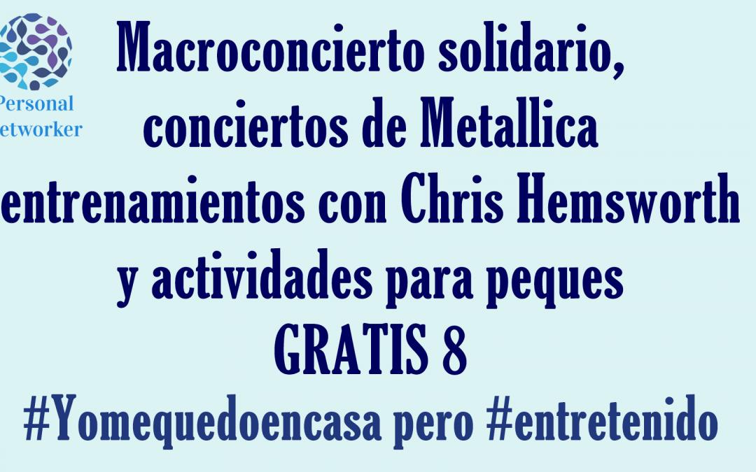 Entretenimiento gratis 8 #Yomequedoencasa