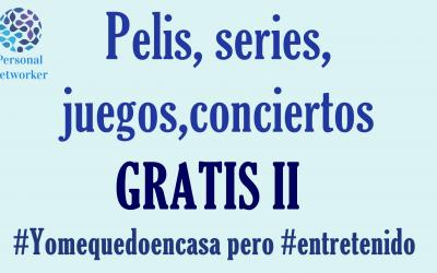 Entretenimiento gratis 2 #Yomequedoencasa